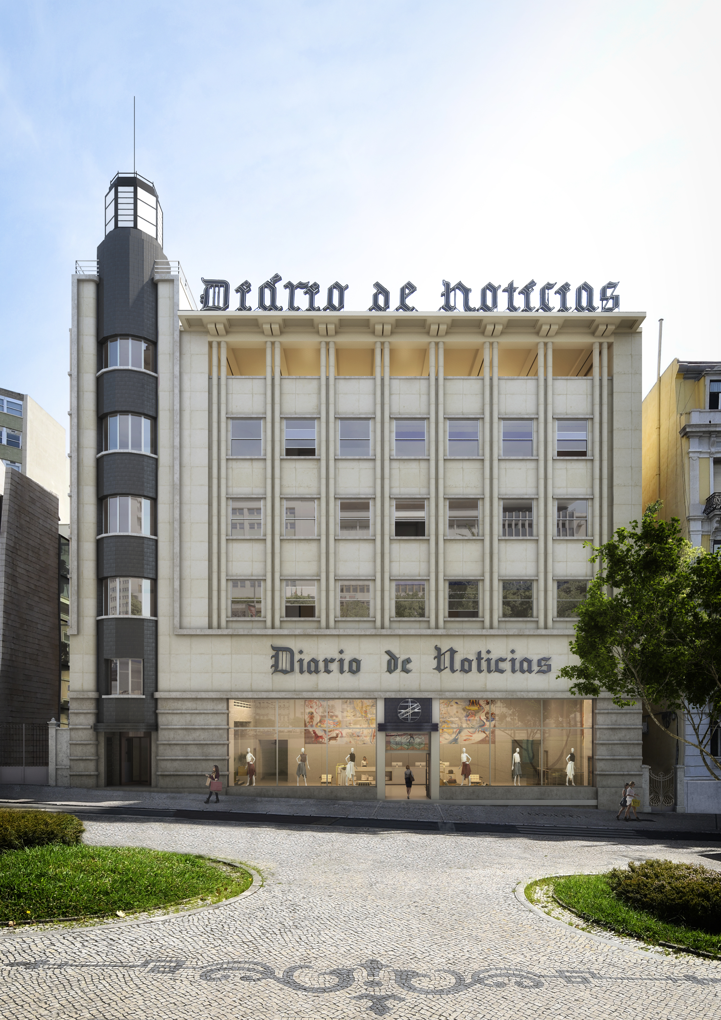 Assim será a fachada do 266 Liberdade / Avenue