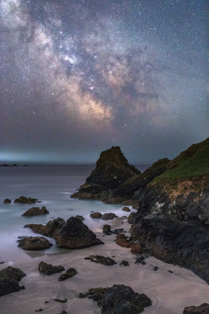 Kynance Cove de noite