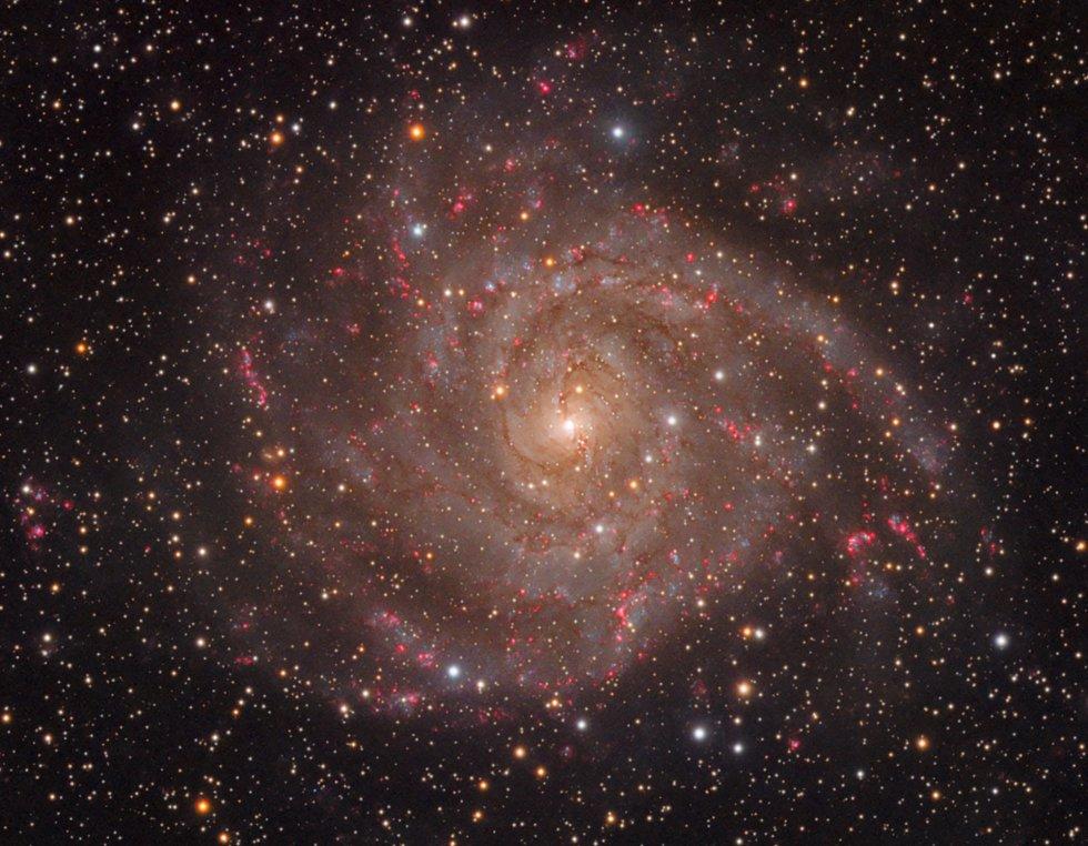 A galáxia oculta