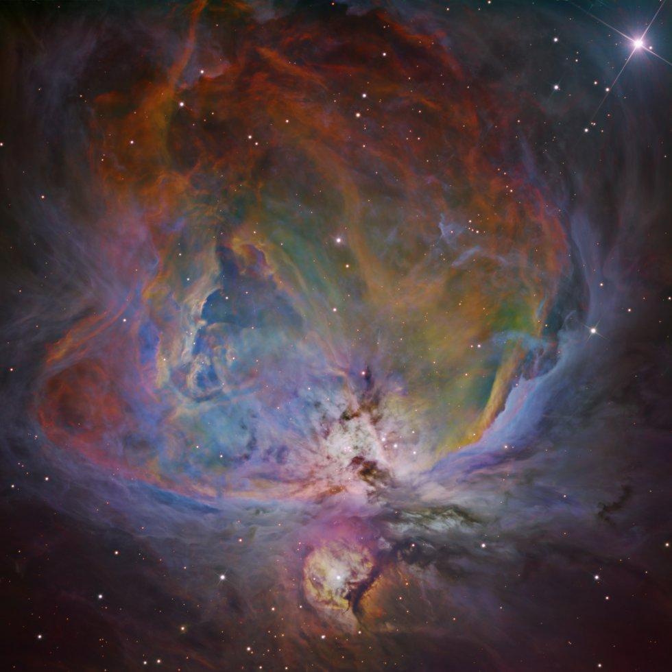 A nebulosa de Orión
