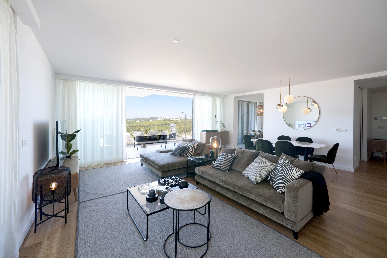 Imagem de um apartamento modelo / Belas Clube de Campo