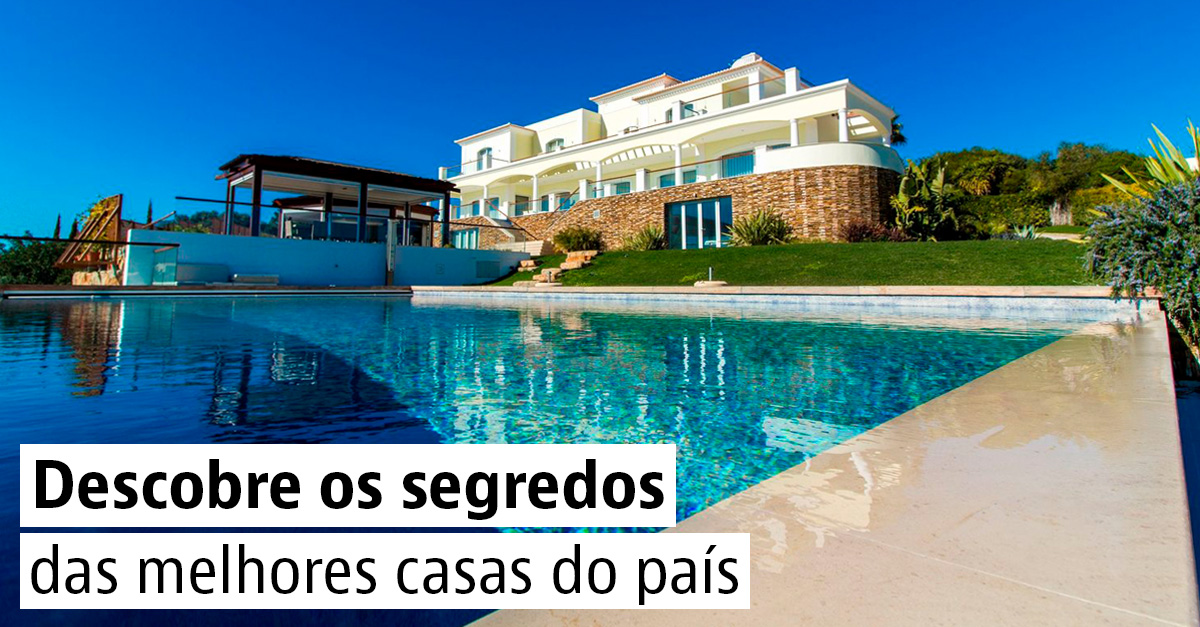 As 20 casas mais desejadas de Portugal