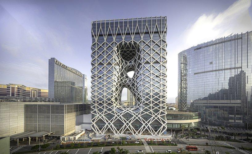 O hotel está localizado em Macau
