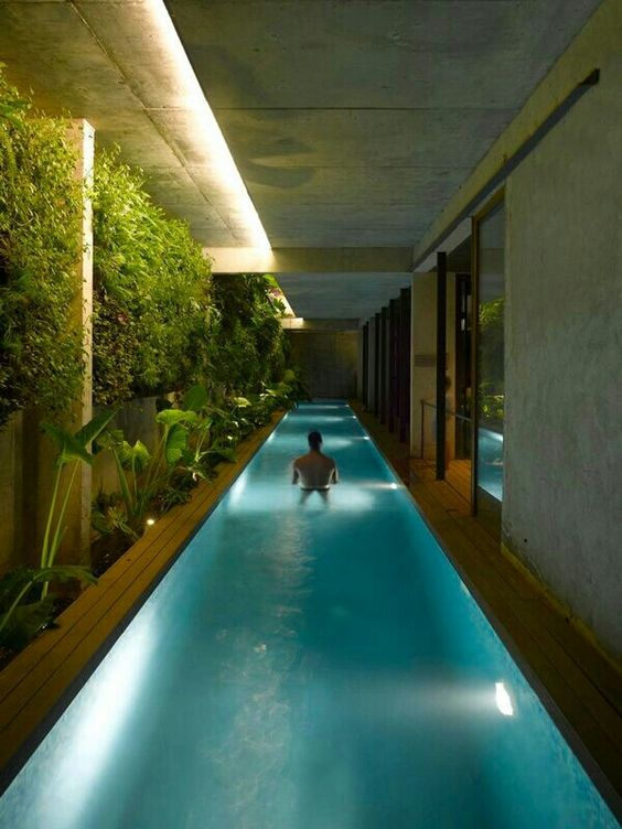 Nadar dentro de casa