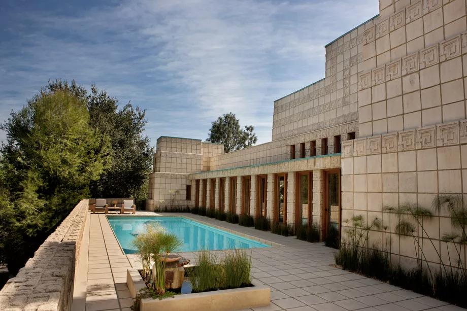 É uma das obras mais peculiares de Frank Lloyd Wright