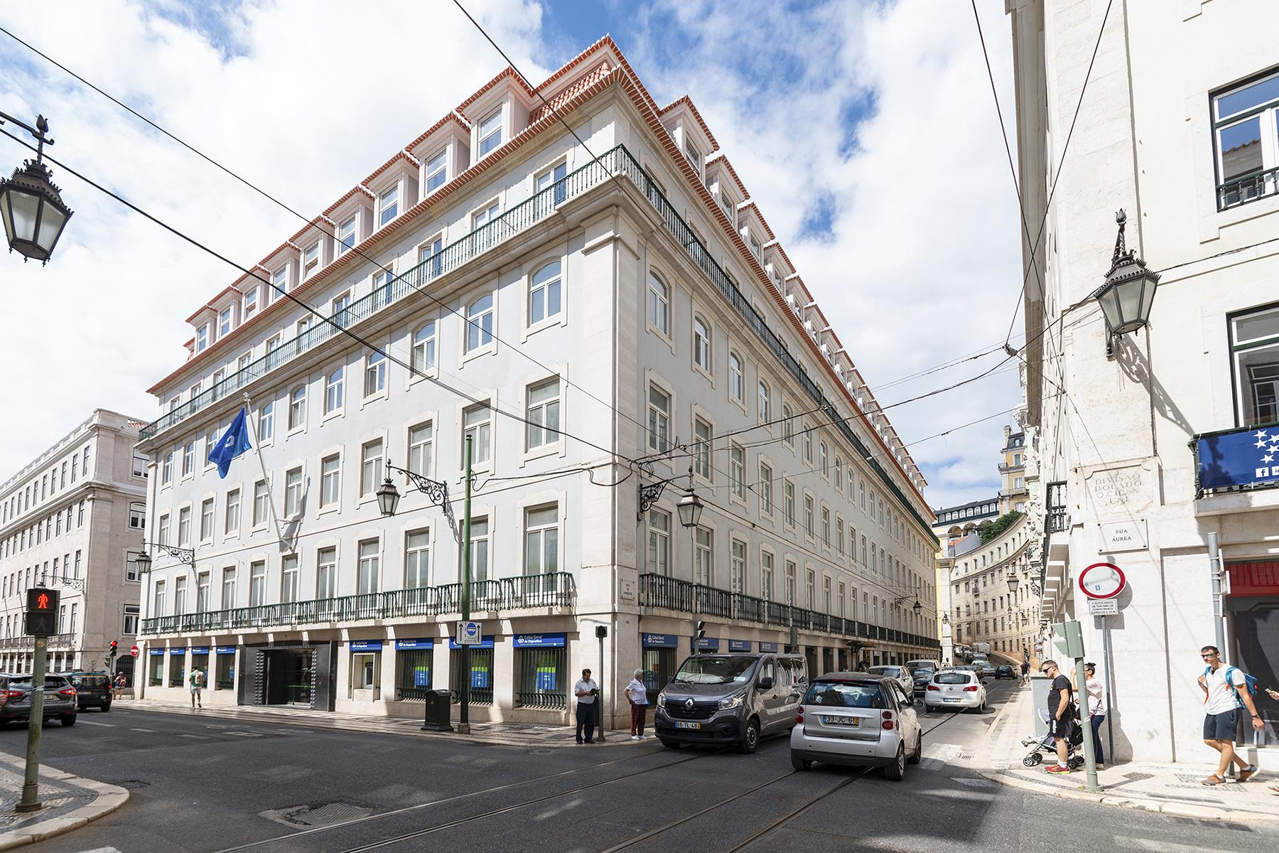 Quarteirão da CGD na Rua do Ouro tem cerca de 13.000 m2 / Cushman & Wakefield