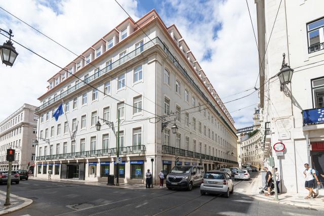 Quarteirão da CGD na Rua do Ouro, em Lisboa, vai começar agora a ser comercializado / Cushman & Wakefield