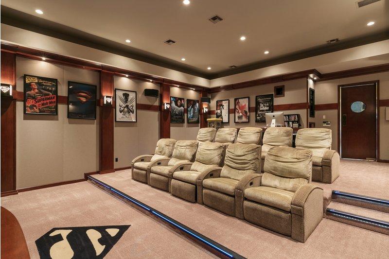 ... E uma sala de cinema muito acolhedora