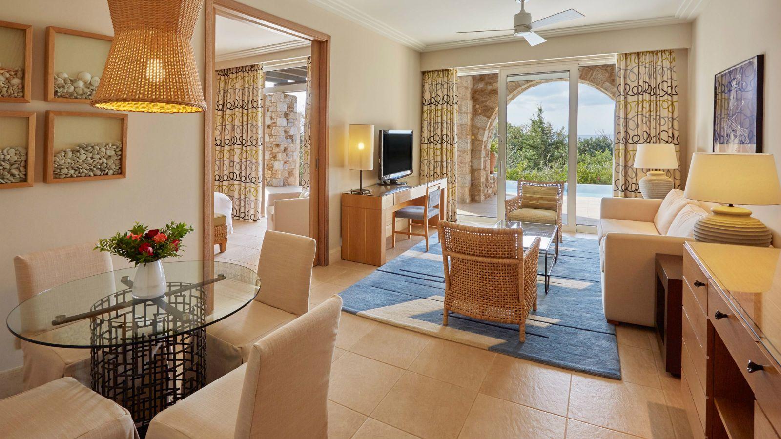 Villas e suites de luxo