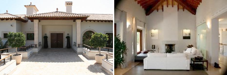 A propriedade que se vendeu conta com uma parcela de terreno de 13.000 m2, com 3.000 m2 habitáveis construídos em três casas