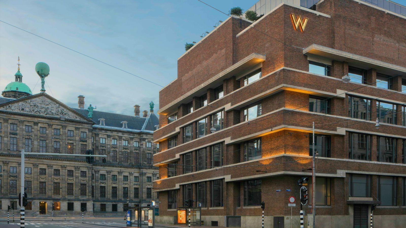 A antiga Casa da Moeda de Amesterdão