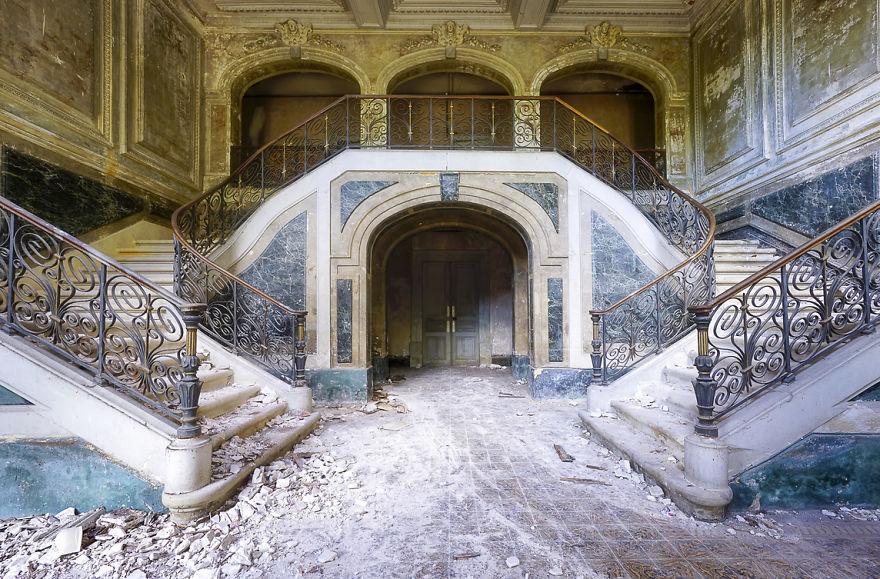 Escadas senhoriais