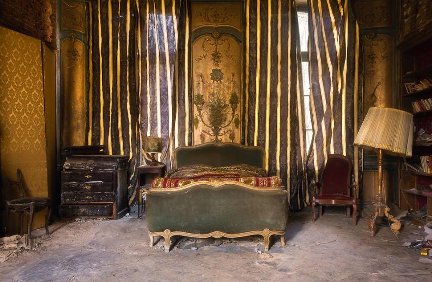 Quem terá dormido aqui?