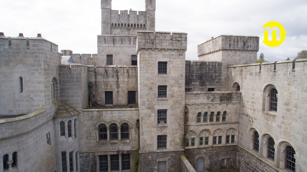 O castelo visto do exterior