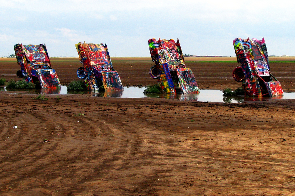 Cadillac Ranch (EUA)