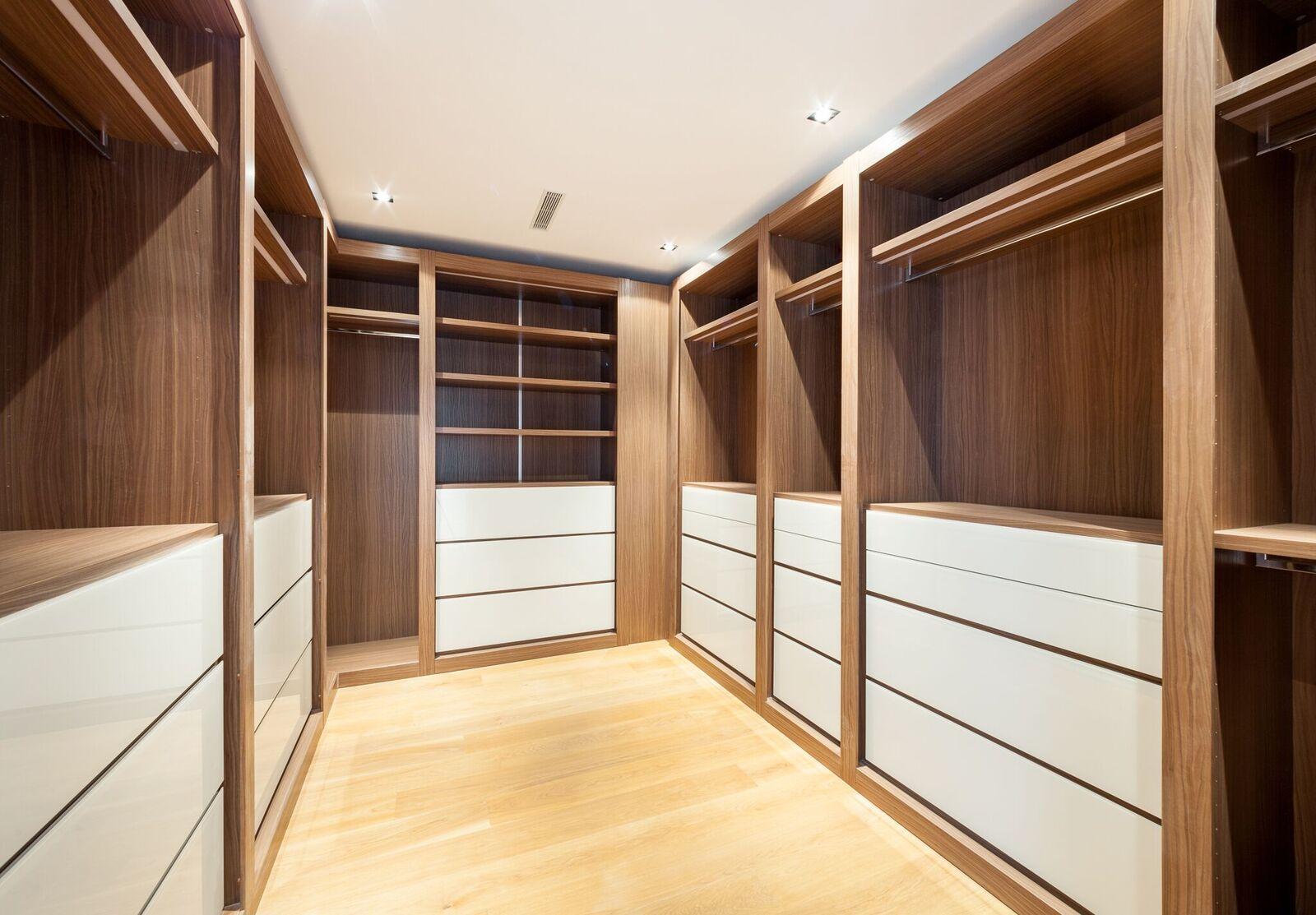 Um closet, imprescindível para uma supermodelo