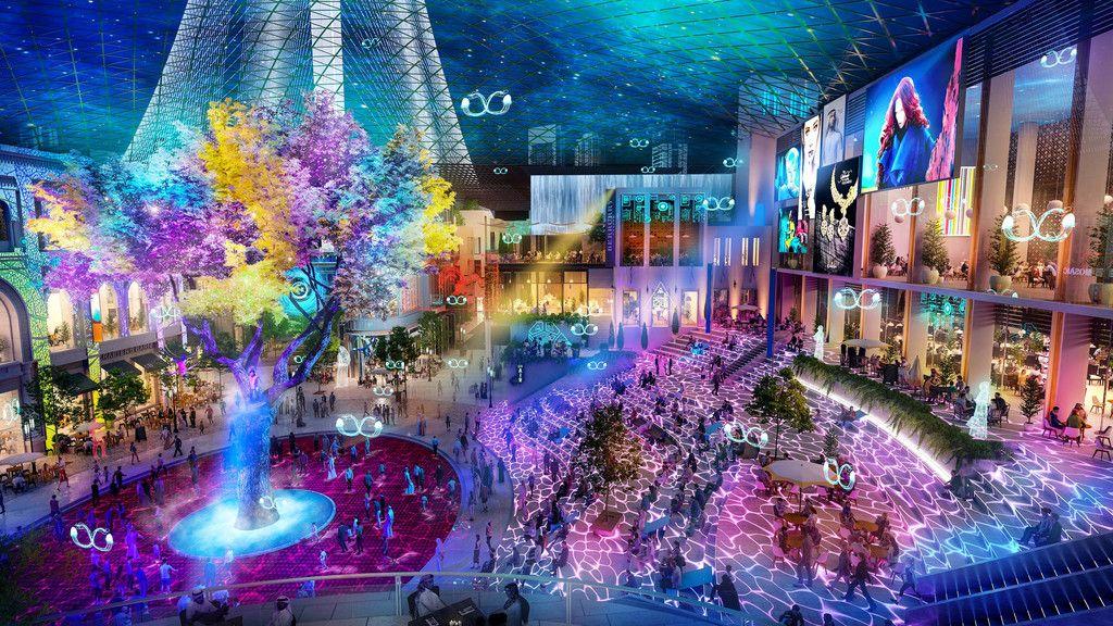 O Dubai Square terá uma grande componente tecnológica