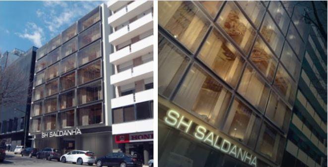 Hotel Casal Ribeiro, no centro da capital / Sacyr
