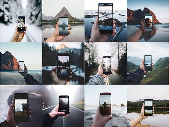 No Instagram nada se inventa, mas tudo se repete