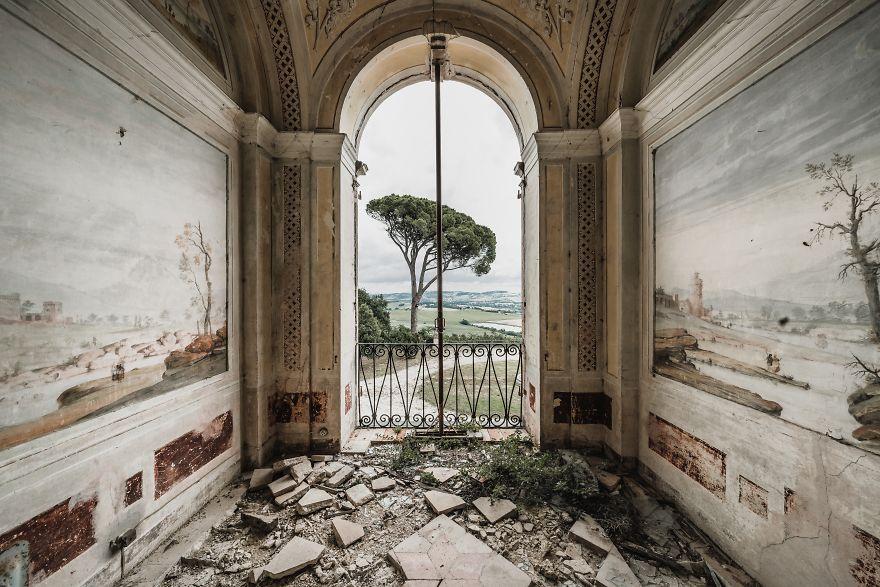 Casa abandonada em Itália