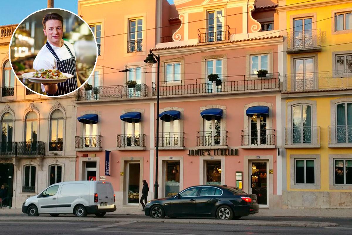 O restaurante que Jamie abriu no Príncipe Real, Lisboa, em fevereiro