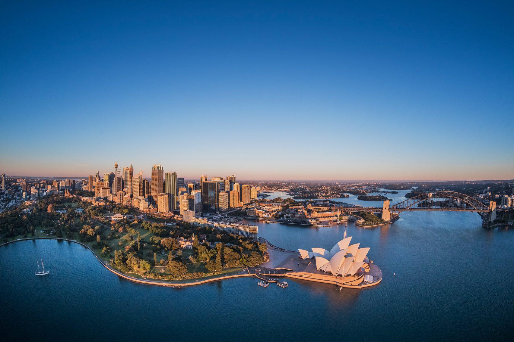 O projeto mais icónico de Jorn Utzon é a Ópera de Sidney