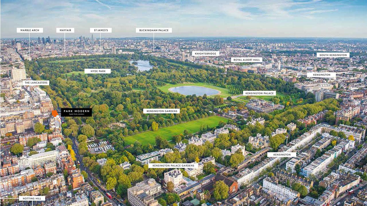 O complexo ficará próximo do Hyde Park
