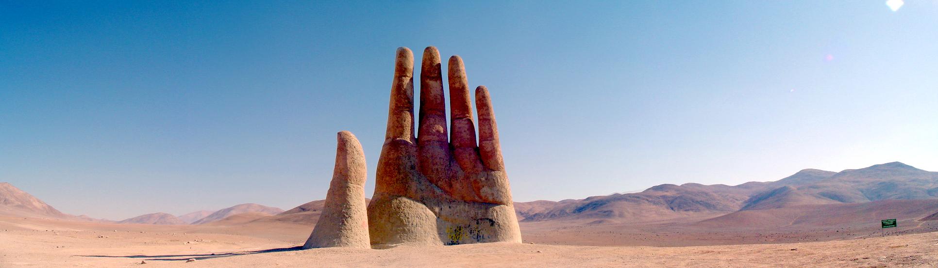 A mão do deserto