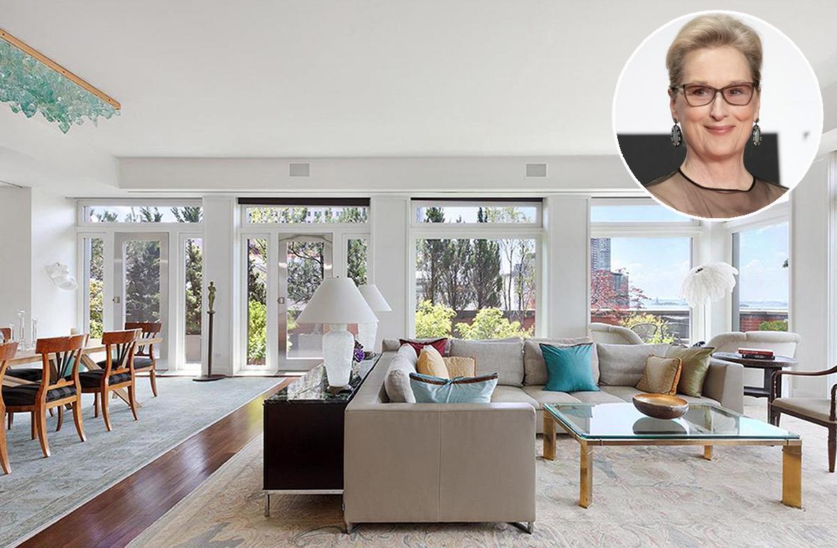 O apartamento fica no bairro de Tribeca, no centro de Nova Iorque