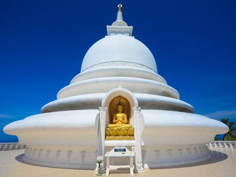 Peace Pagoda, Sri Lanka