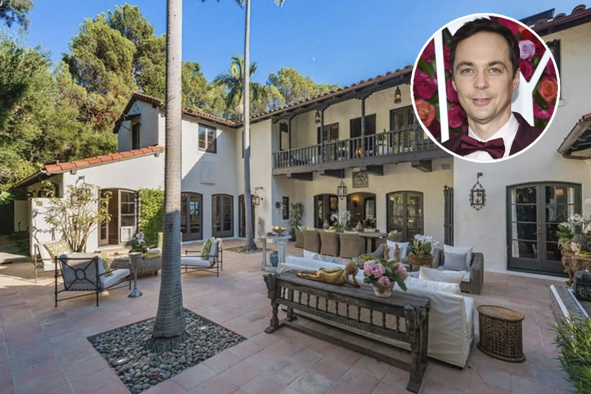 Casa já teve como dono o também ator Robert Pattinson