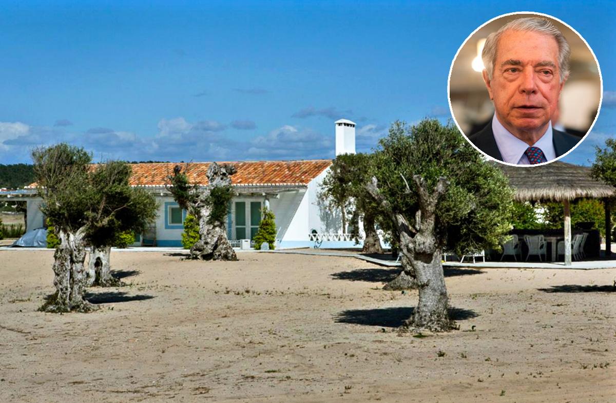 Ex-presidente do BES tem uma propriedade em plenas dunas, à beira-mar.