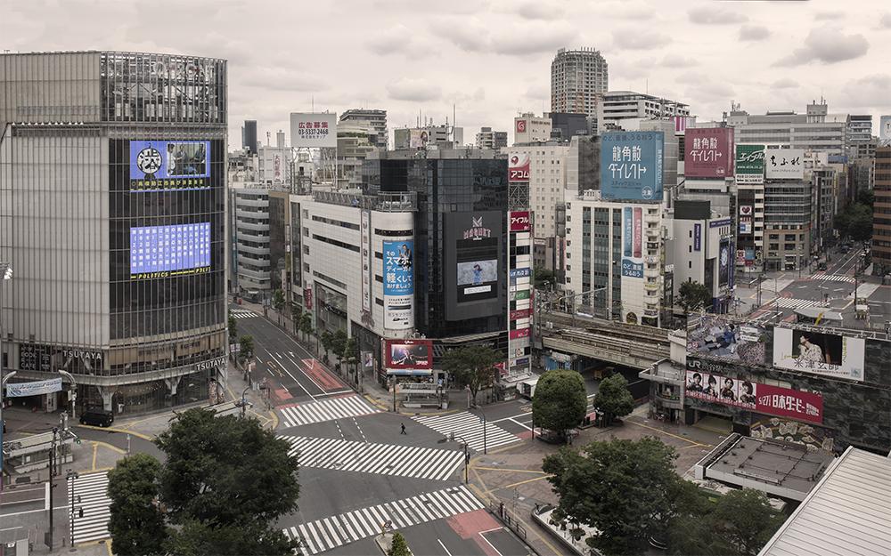Cruzamento de Shibuya / Ignacio Pereira
