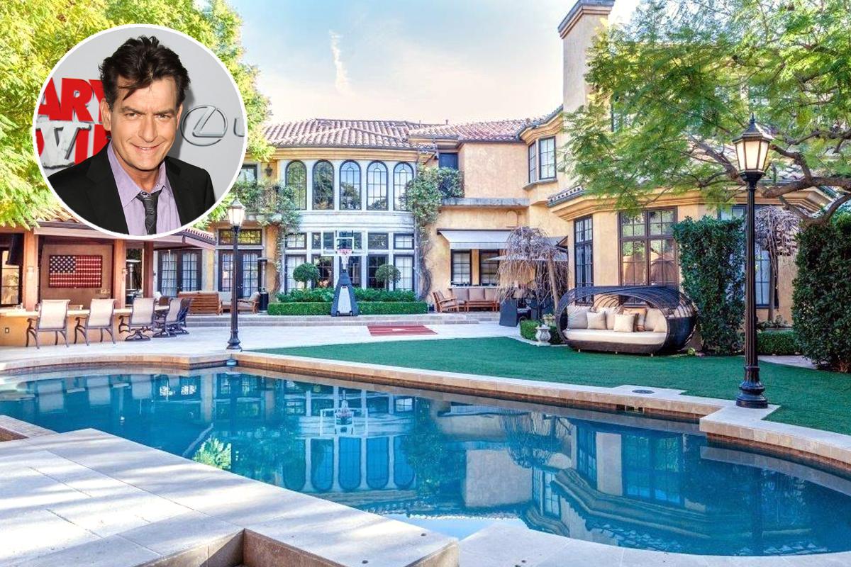 Charlie Sheen, piscinas a dobrar