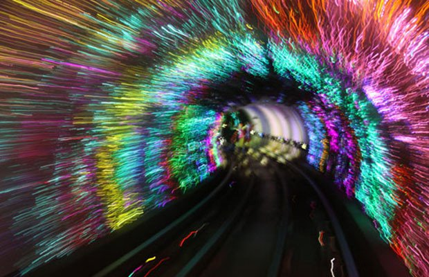 Bund Sightseeing Tunnel, Shanghai, China / mic-ro.com @architectureartdesigns.com