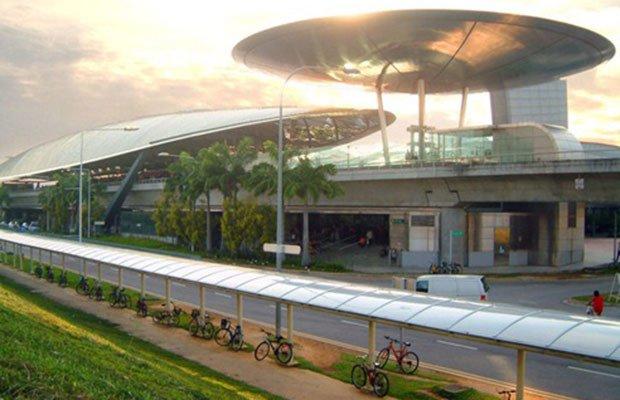 Expo MRT, Singapura