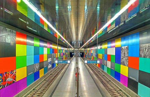 U-Bahn, Munique, Alemanha