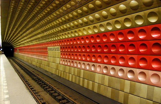 Line A Stations, Praga, República Checa