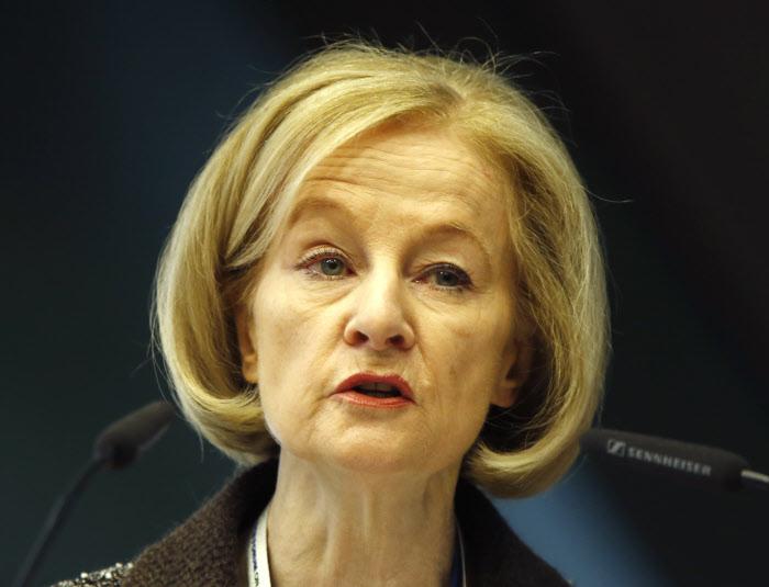Danièle Nouy, presidente do Conselho de Supervisão do BCE, alerta para perigos das taxas de juro variáveis / Gtres