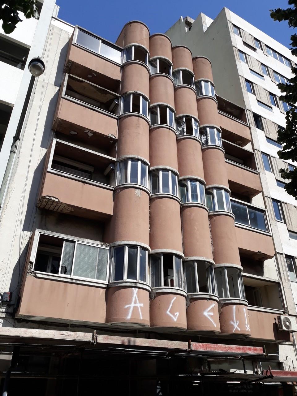 Fachada atual do edifício