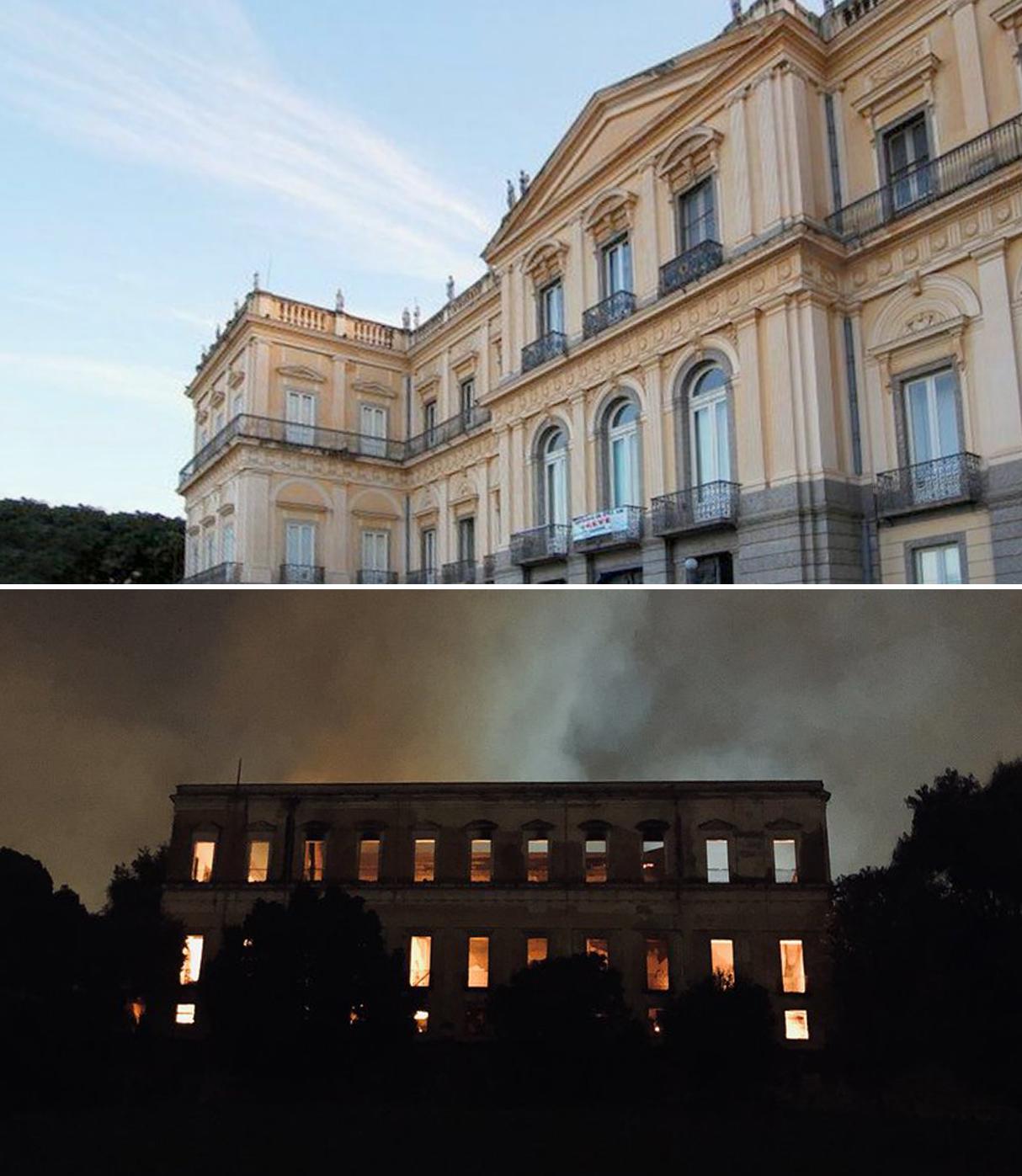 Museu Nacional/ UFRJ e @Ricardo_Abreu_Twitter