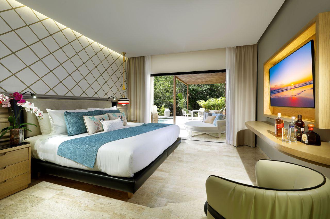 Um colorido quarto...