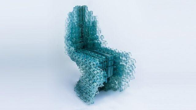 Cadeiras impressas à medida em 3D
