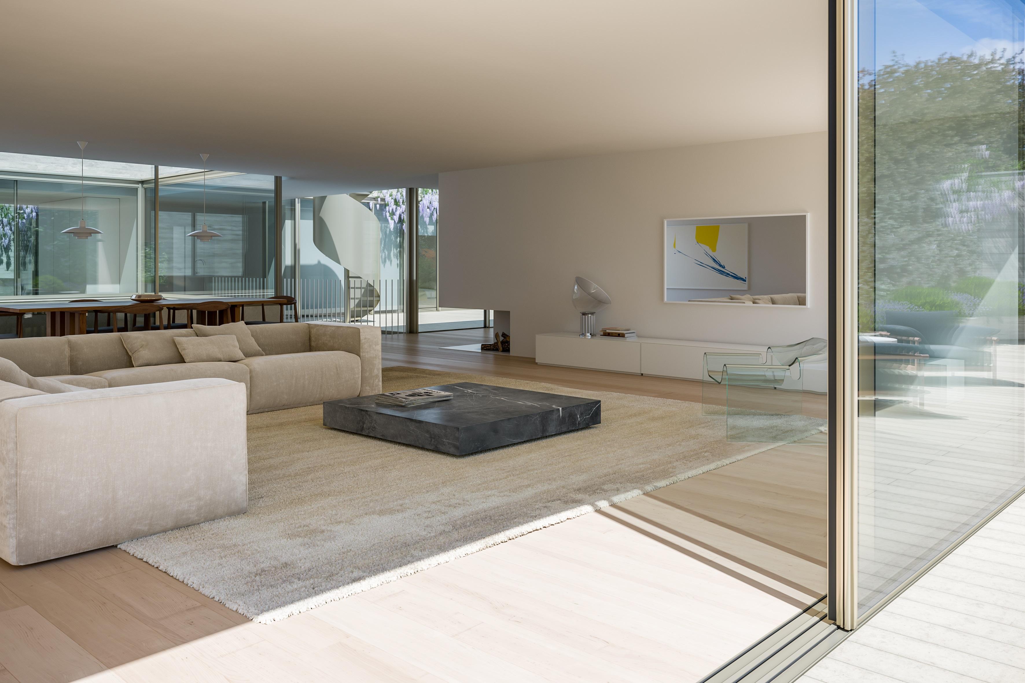 Aquele que será o interior de um dos apartamentos / JLL