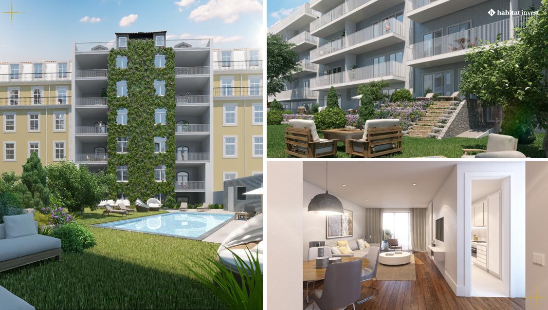 Quase 40 dos 52 apartamentos do Duque 70 já estão vendidos / Habitat Invest