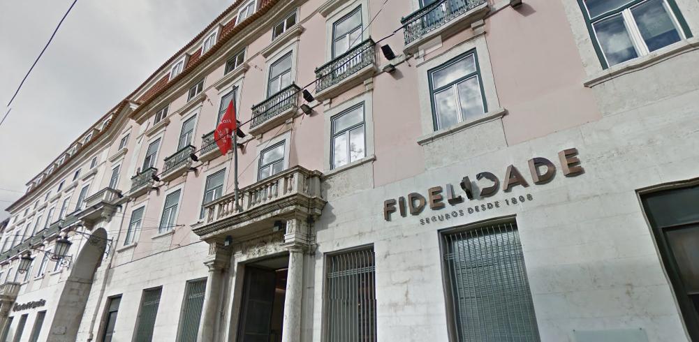 A Fidelidade está sediada no Largo do Calhariz, em Lisboa / Google Maps