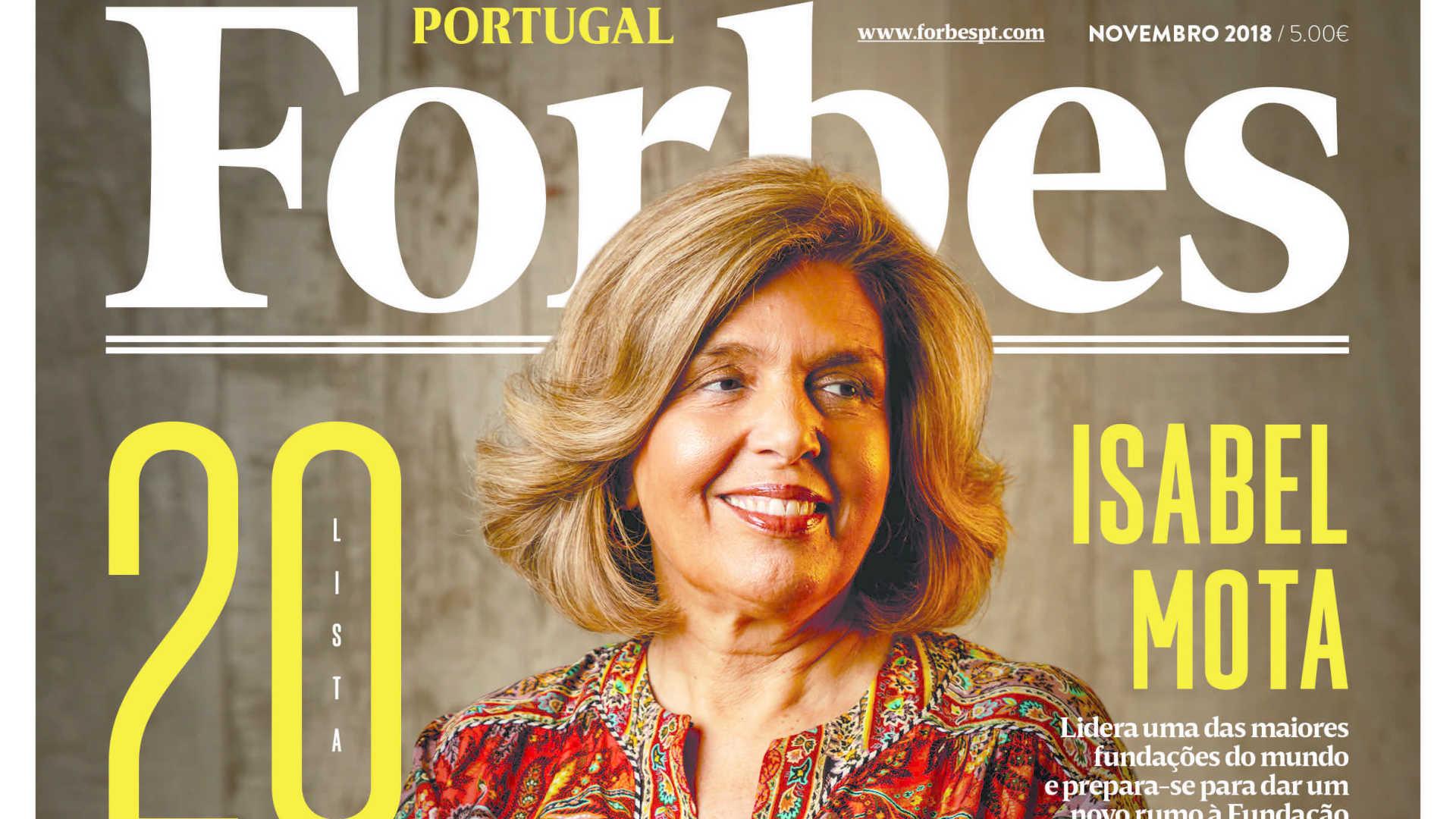 Isabel Mota aparece no quarto lugar do Top 10 das mulheres mais poderosas / Forbes