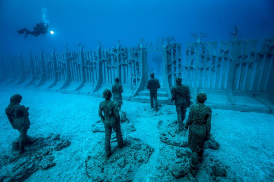 Um 'exército aquático'