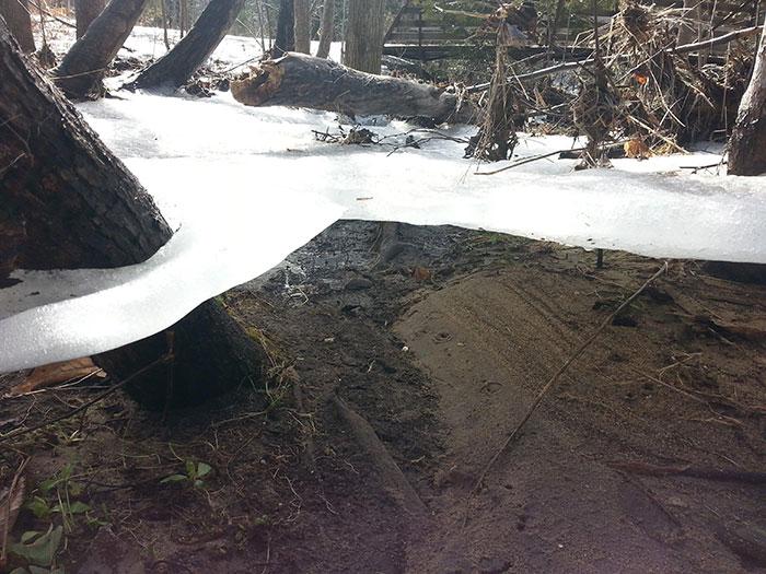 Neve que flutua