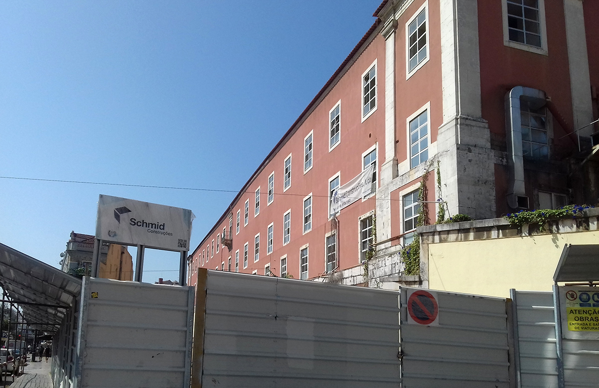 A história do edifício será recuperada / Carla Celestino